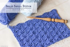 How To: Crochet The Solid Shell Stitch – Easy Tutorial