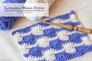 How To: Crochet The Catherine Wheel (Starburst) Stitch – Easy Tutorial