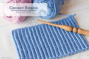 How To: Crochet A Ribbing – Easy Tutorial