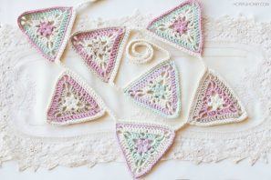 Vintage Candy Shop Bunting – Crochet Pattern + Giveaway