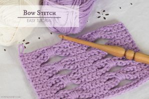 How To: Crochet The Bow (Butterfly) Stitch – Easy Tutorial