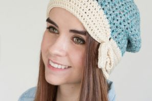 Ivory Ocean Beanie – Free Crochet Pattern & Yarn Review