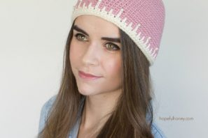Strawberry Sorbet Hat – Giveaway + Crochet Pattern