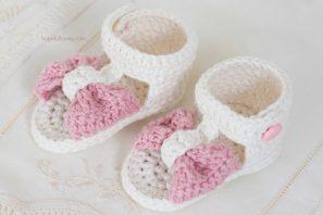 Bonbon Baby Sandals – Giveaway + Crochet Pattern