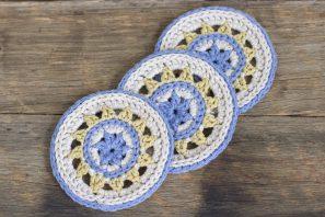 Meadowlark Coasters Crochet Pattern