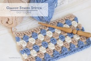 How To: Crochet The Granny Stripe Stitch – Easy Tutorial