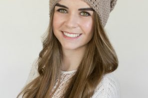 Toasted Wheat Slouchy Beanie – Free Crochet Pattern