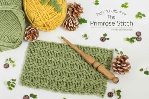 How To: Crochet The Primrose Stitch – Easy Tutorial