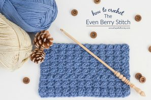 How To: Crochet The Even Berry Stitch – Easy Tutorial