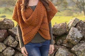 Cinnamon Roll Pullover Sweater – Crochet Pattern