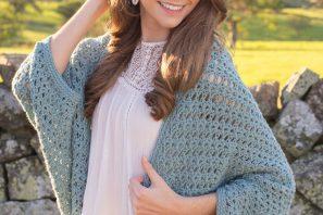 Harbor Haze Cocoon Sweater – Crochet Pattern