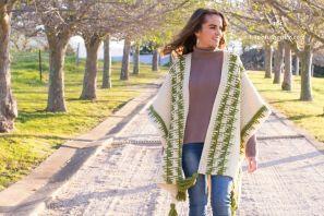 The Olivine Ruana – Crochet Pattern