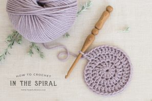 How To: Crochet In The Spiral – Easy Tutorial