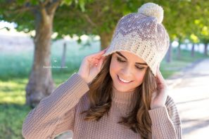 Mont Blanc Fair Isle Hat – Crochet Pattern