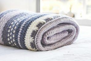 Winter Tempest Blanket – Crochet Pattern