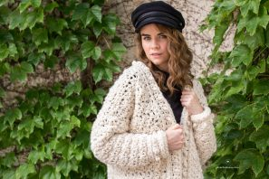 Snow Angel Cardigan Crochet Pattern