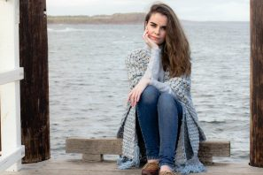 First Wave Ruana – Crochet Pattern