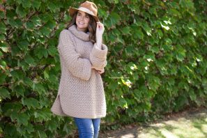 Fallow Fawn Roll Neck Sweater Crochet Pattern